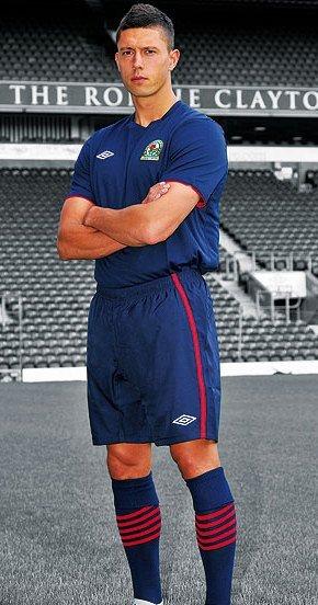 Jason Lowe Blackburn Shirt 2012