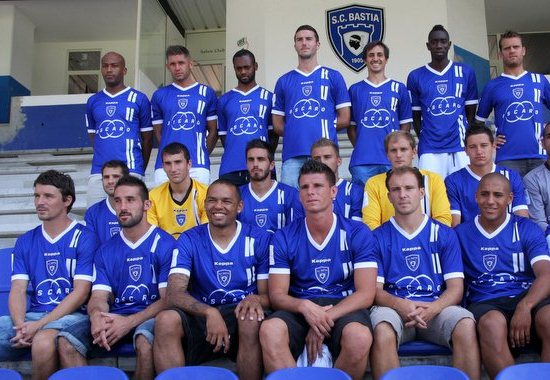 Kappa Maillot SC Bastia 2013