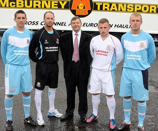 Kukri Ballymena United Jersey 2012