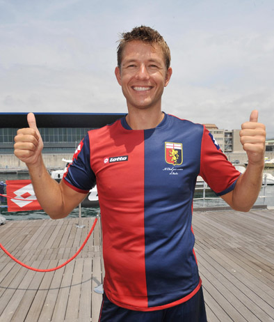 Lotto Genoa Football Shirt 2012