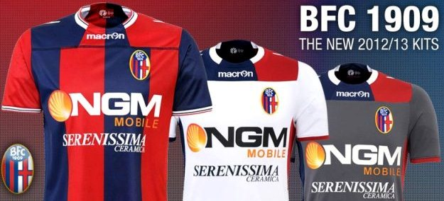 Macron Bologna Kits 2012/13