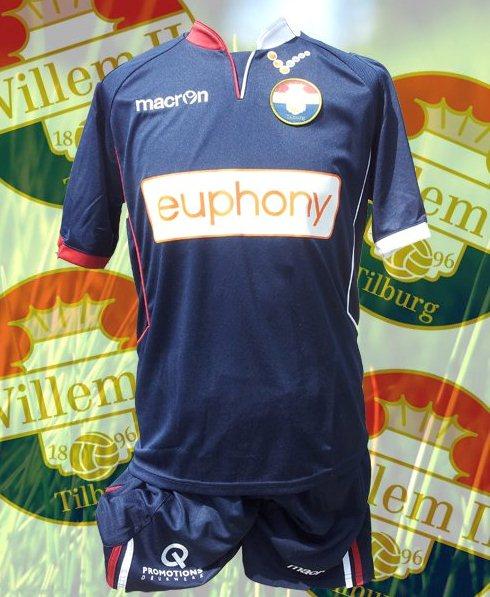 Macron Willem II Tilburg Kit 2013