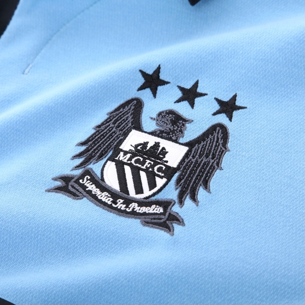 Man City Club Crest 2012