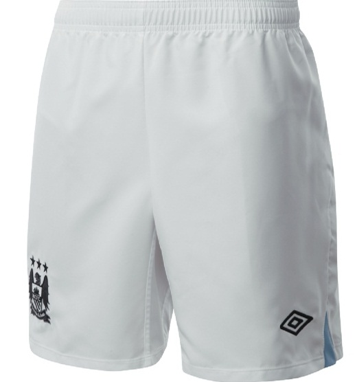 Man City Home Shorts 2012