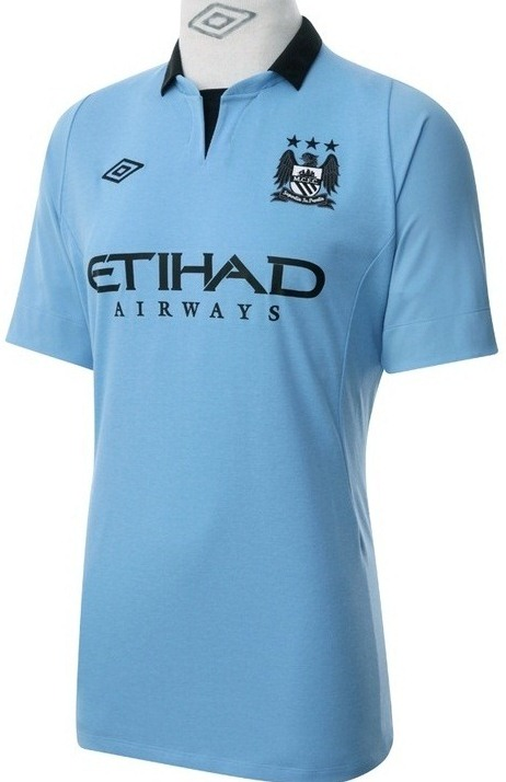 Manchester City Home Shirt 2013