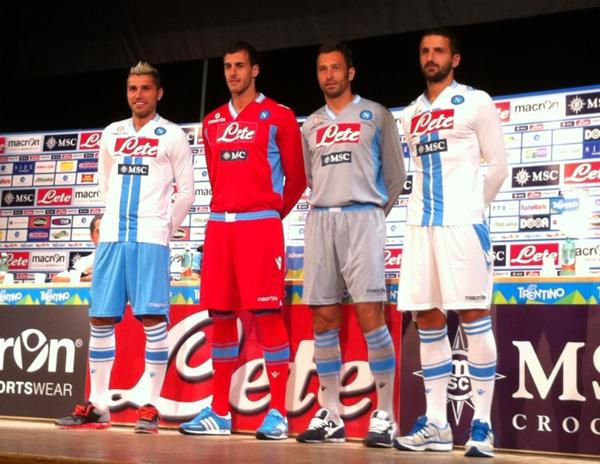 Napoli 3e shirt 2012/2013