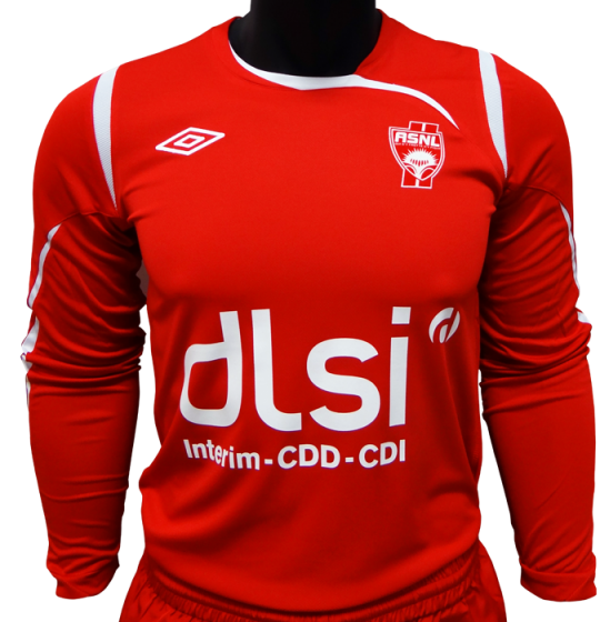 New AS Nancy Maillot Exterieur 2013