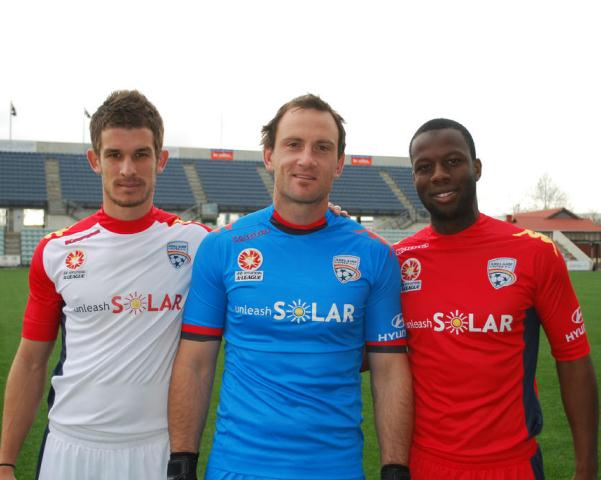 New Adelaide United Kappa Football Kit 2012