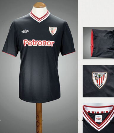 New Athletic Bilbao Away Jersey