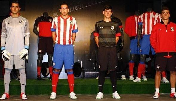 Atletico Madrid New Kits 2012-13