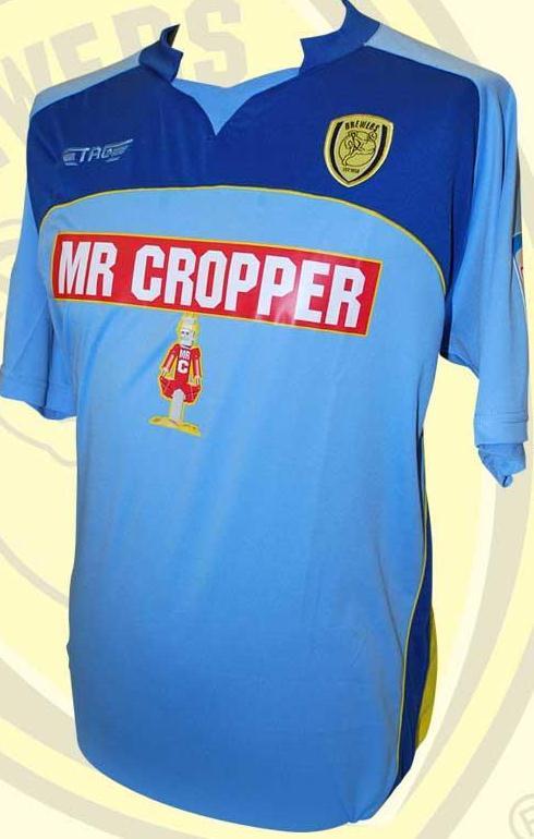 New Burton Albion Away Kit 12 13