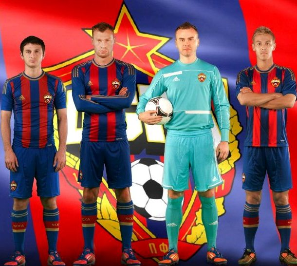 New CSKA Moscow Soccer Jersey 2012