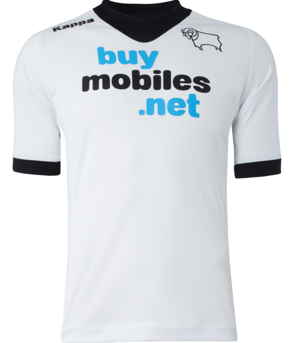New Derby County Home Shirt 2012 2013