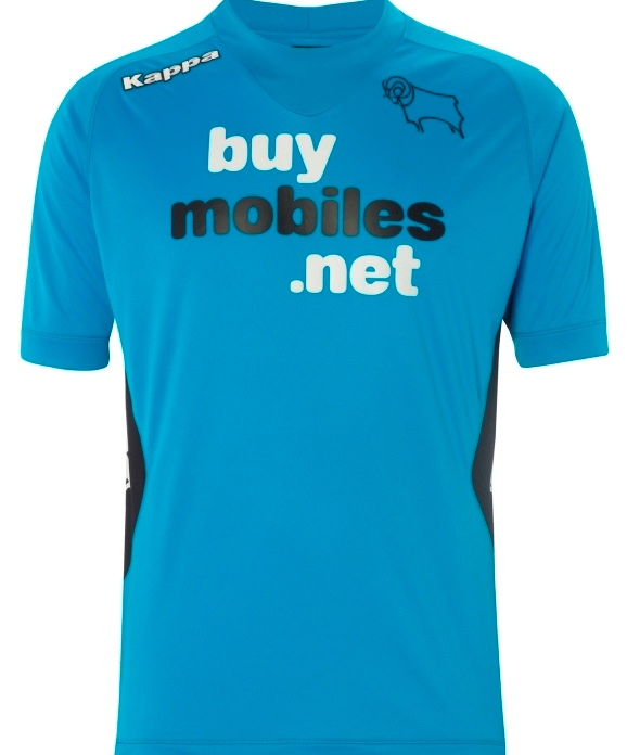 New Derby County Third Kit 12 13
