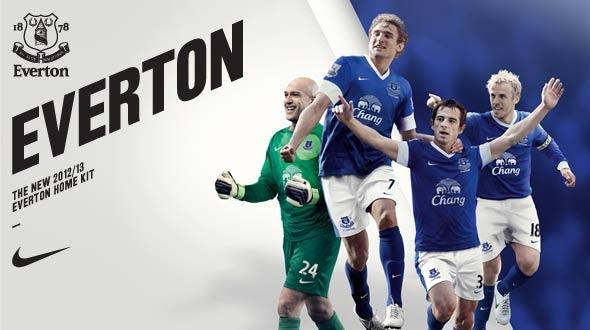 Everton thuisshirt 2012/2013