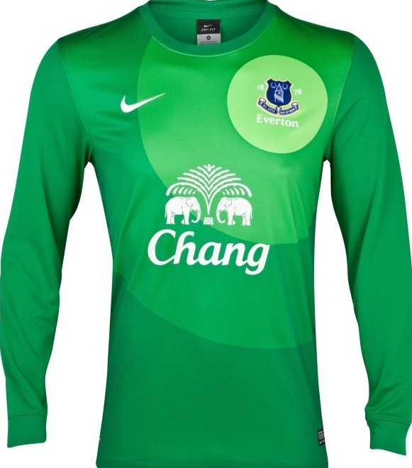 New Everton Goalkeeper Jersey 2013
