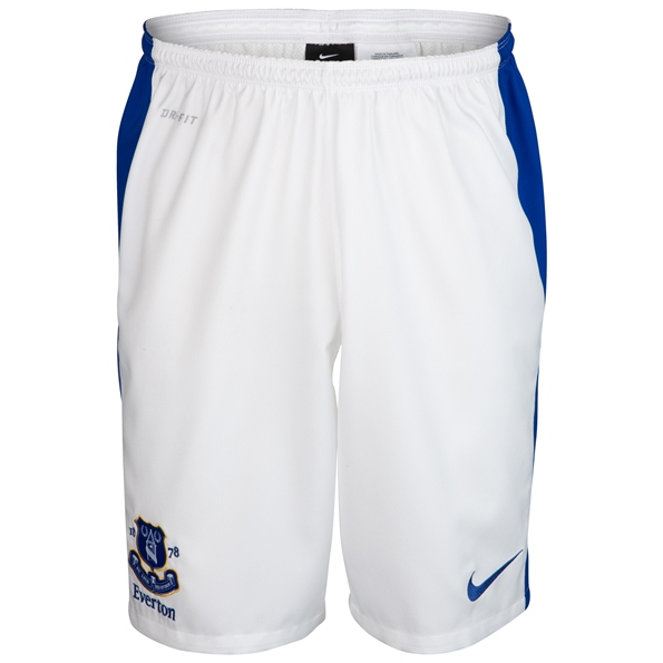 New Everton Home Kit Short 12 13