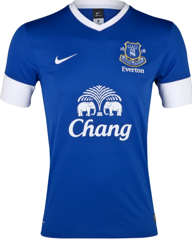 New Everton Home Jersey 2012-2013- Everton Nike Kit 12 13 ...