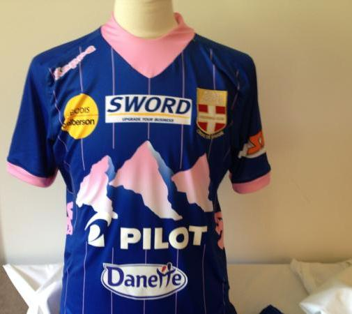 New Evian Soccer Jersey 2012