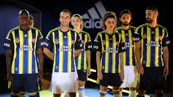 New Fenerbahce Jersey 2012 13