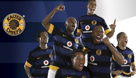 New Kaizer Chiefs Away Jersey 2012 13