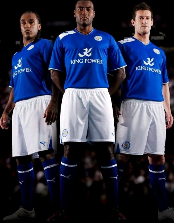 New Leicester City Puma Kit 2012/13