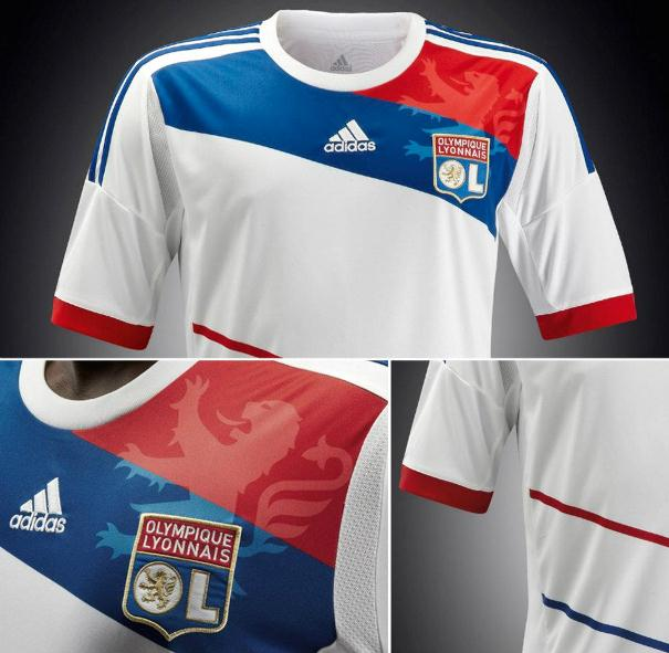 New Lyon Soccer Jersey 2012 13