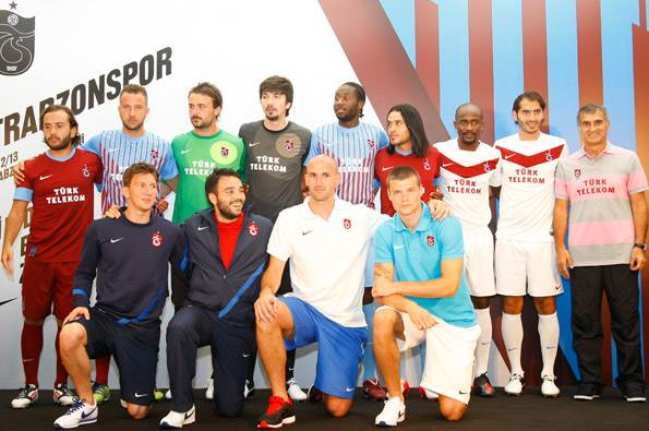 New Nike Trabzonspor Jersey 2012