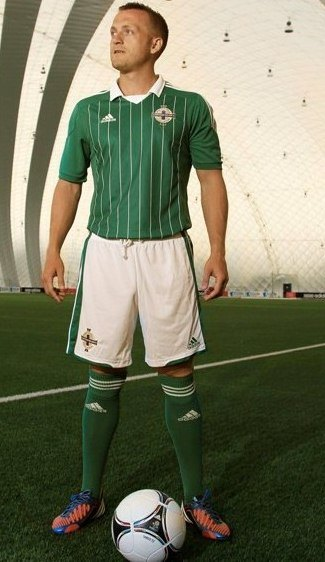 New Northern Ireland Home Kit 2012/13