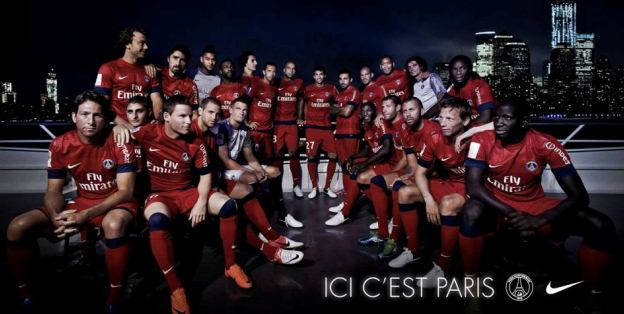 New PSG Away Jersey 2013