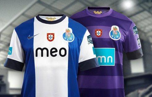 FC Porto voetbalshirts 2012-2013