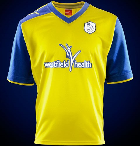 New Sheffield Wednesday Away Kit 12 13