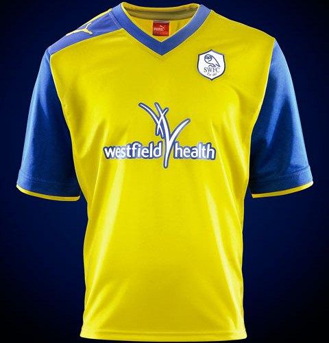 New Sheffield Wednesday Away Kit 12 13