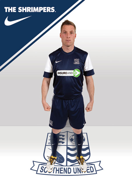 New Southend United Home Kit 12-13