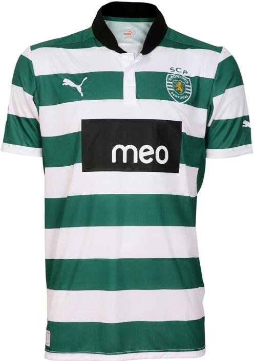 Sporting Lissabon thuisshirt 2012-2013