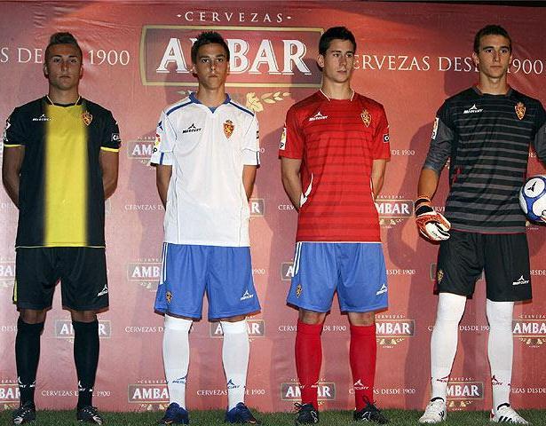 New Zaragoza Kits 2012