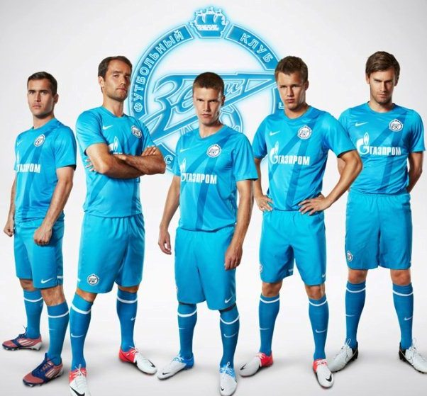 New Zenit St Petersburg Jersey 2012 13