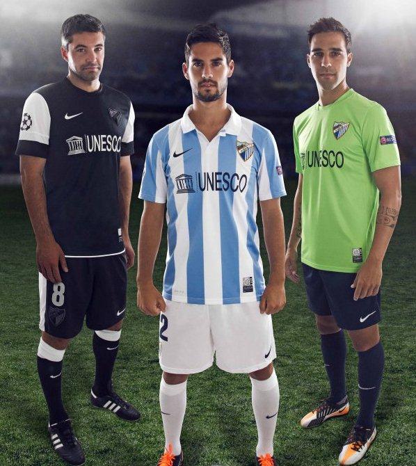Malaga voetbalshirts 2012-2013