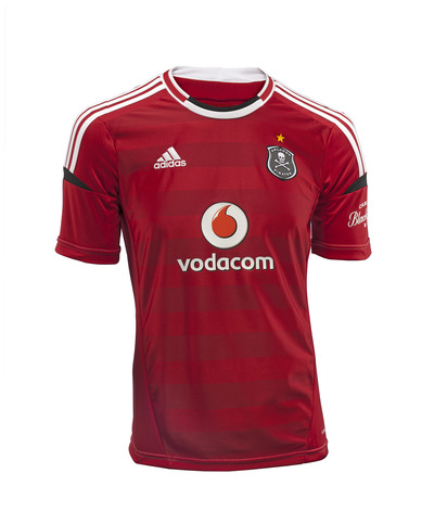 Orlando Pirates Footy Shirt 2012