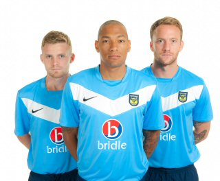 Oxford United New Away Shirt 2013