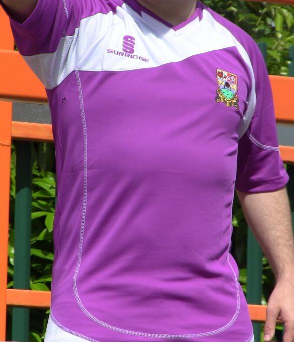 Purple Barnet FC Shirt 12-13