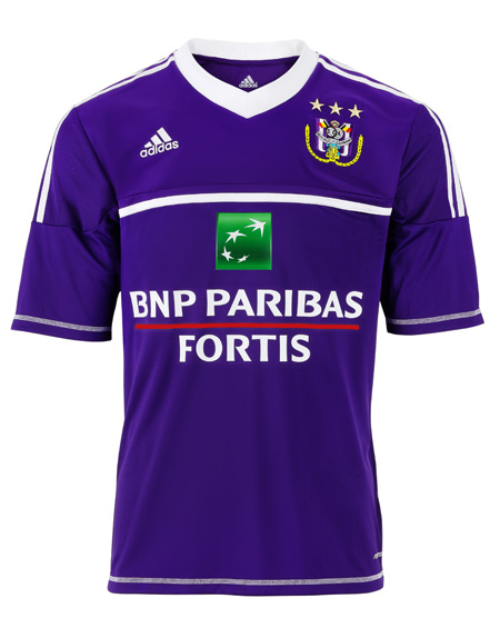 RSC Anderlecht Home Shirt 2012/13