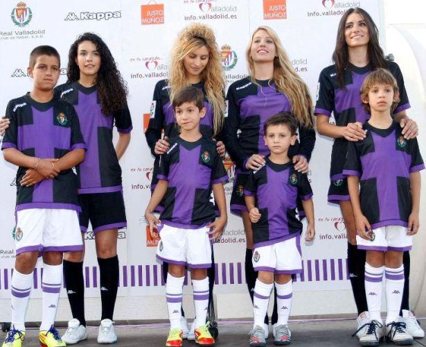 Real Valladolid Away Kit 2012