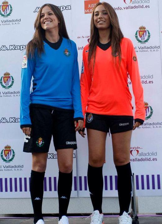 Real Valladolid Goalkeeper Kits 12 13