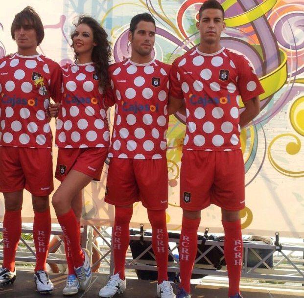 Recreativo Huelva Segunda Equipacion 2012
