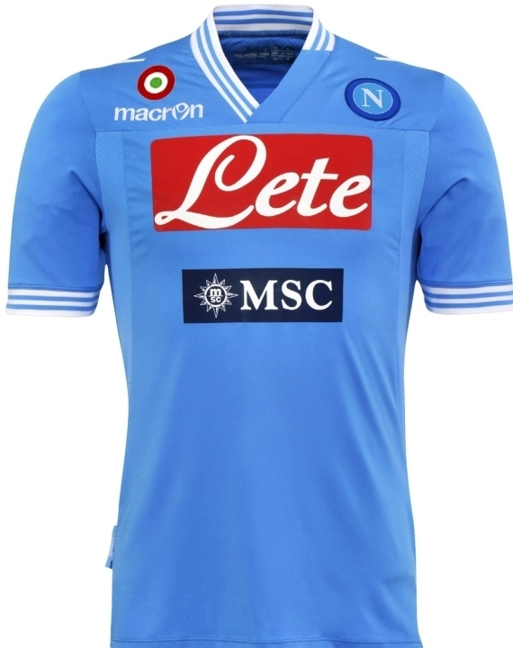 SSC Napoli Home Shirt 2012-13