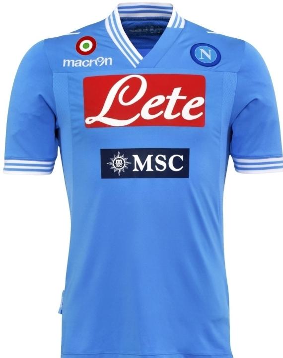 Napoli thuisshirt 2012/2013