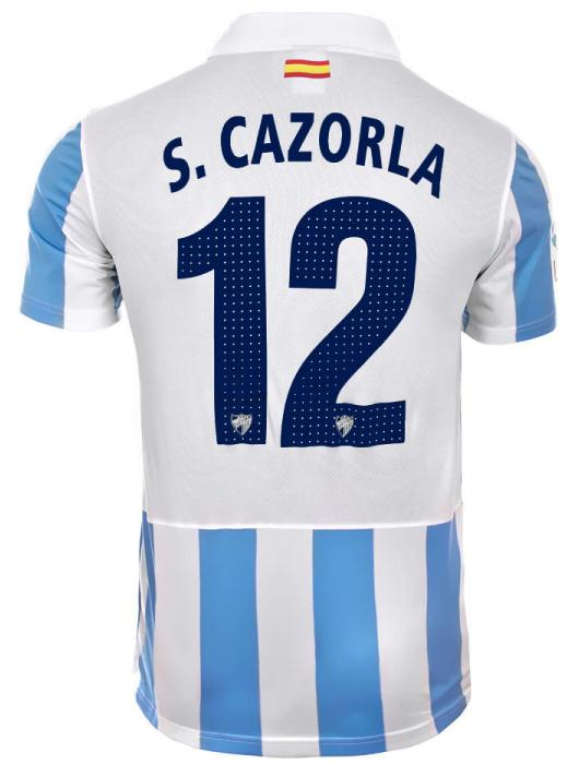 Malaga thuisshirt 2012-2013