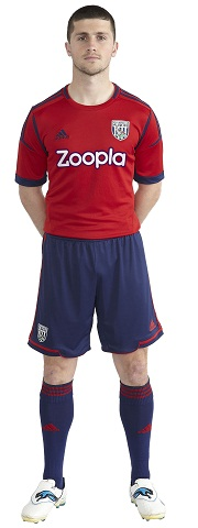 Shane Long WBA 2012 Shirt