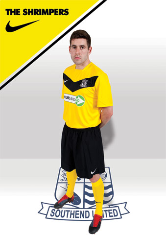 Southend United Away Shirt 2012